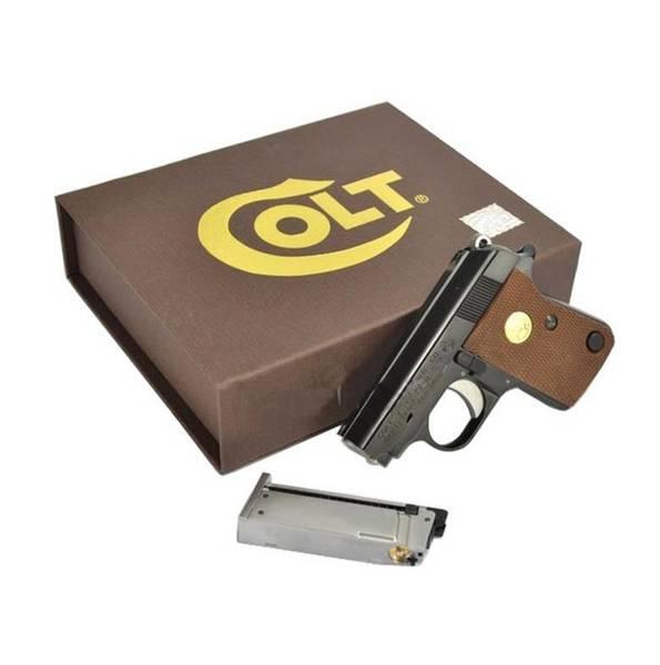 Bilde av Colt Junior - Gassdrevet Softgun Pistol med Blowback - Svart