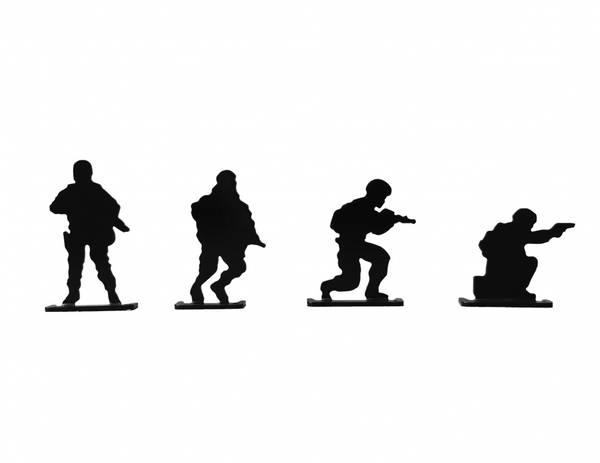 Bilde av Små Soldater - 4stk Blinker til Luftvåpen