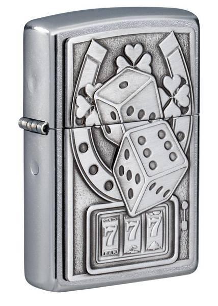 Bilde av Zippo - Lucky 7 Emblem - Lighter