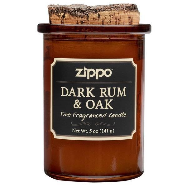Bilde av Zippo - Spirit Candle Duftlys - Dark Rum & Oak