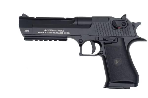 Bilde av Desert Eagle .50 Elektrisk Airsoft Pistol med Mosfet og LiPo - S