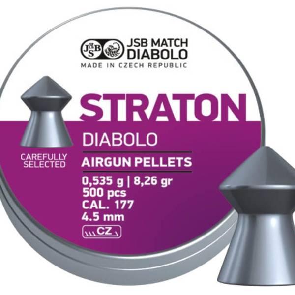 Bilde av JSB Straton - 4.5mm - 500stk