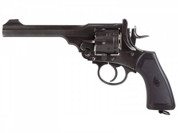 Bilde av Webley - MKVI Service Revolver 4.5mm Pellets - Battlefield Finis