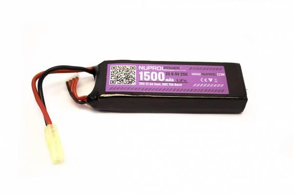 Bilde av Batteri LI-FE 9.9V - 1500mAh - Liten Plugg