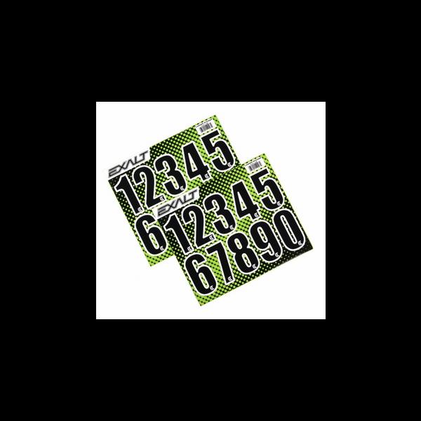 Bilde av Exalt Loader Number Stickers - Black