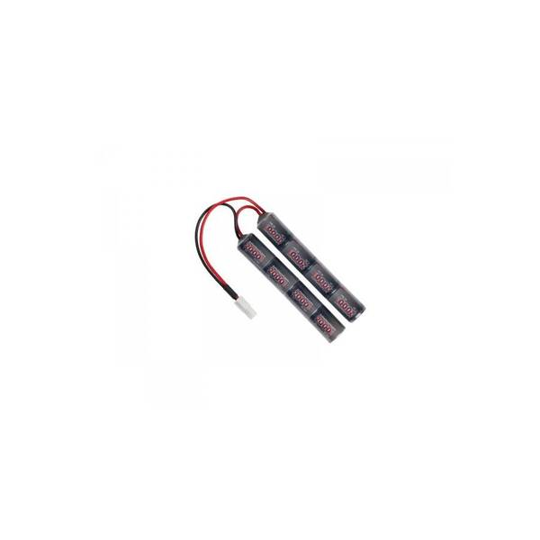 Bilde av Batteri 9.6V 2000mAh (Cranestock), Liten plugg