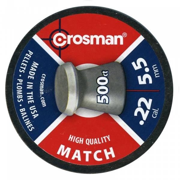 Bilde av Crosman 5.5mm Match Luftgeværkuler - 500stk