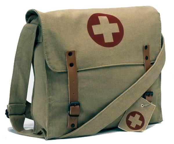 Bilde av Khaki Vintage Medic Bag