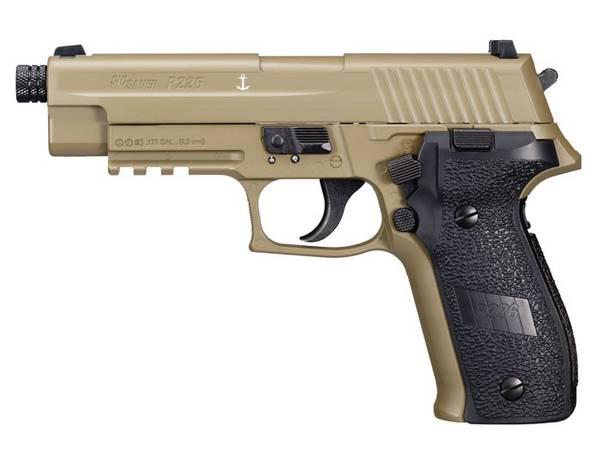 Bilde av Sig Sauer - P226 ASP Luftpistol 4.5mm Pellets - FDE