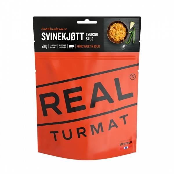 Bilde av REAL Turmat - Svinekjøtt i Sursøt Saus