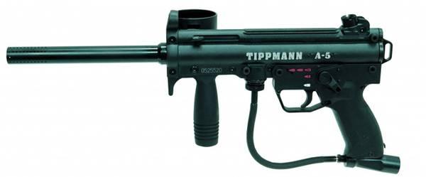Bilde av Tippmann A5 E-Grip Selector Switch Luft Powerpack