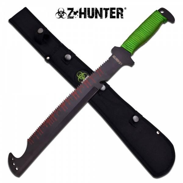 Bilde av Zombie Hunter Saw Back Machete