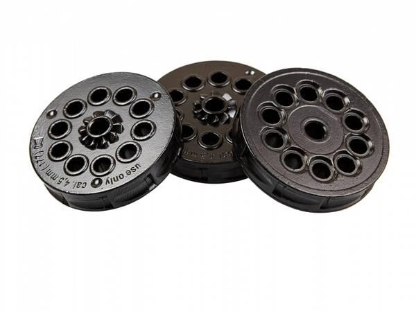 Bilde av Magasin Metall 3stk - Colt Python - 4,5mm Pellets