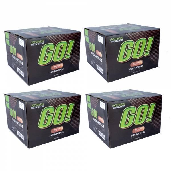 Bilde av GO! Paintballs - Bronze - 8000stk