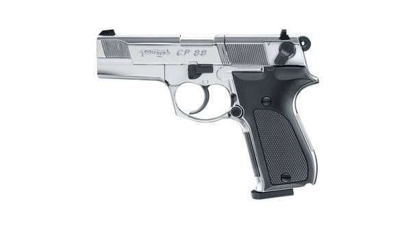 Bilde av Walther CP88 Polished Chrome - 4.5mm Pellets