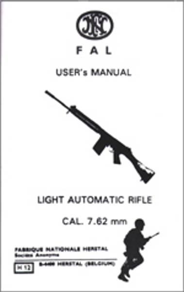 Bilde av FN-FAL-Users Manual-Light-Automatic-Rifle- Cal 7.62mm