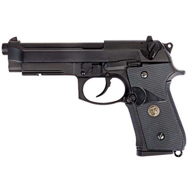Bilde av WE - M9A1 USMC Style Gassdrevet Softgunpistol - Svart
