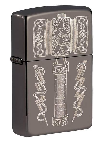 Bilde av Zippo - Tors Hammer Viking Design - Lighter