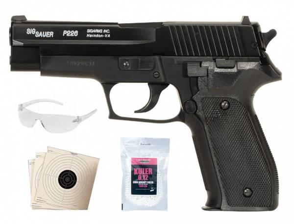 Bilde av Swiss Arms SP2022/P226 HPA Fjærdrevet Softgun Metalslide - SPESI