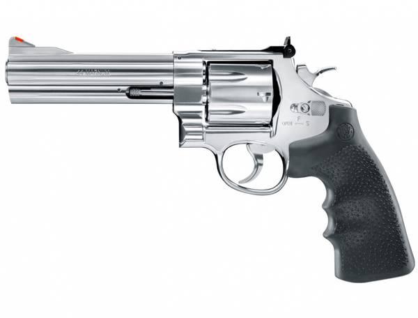 Bilde av S&W - 629-5 CO2 Drevet - 4.5mm BB Revolver - Sølv