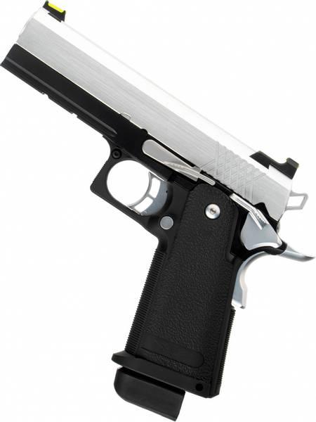Bilde av Raven - Hi-Capa 4.5 Softgunpistol med Blowback - Svart/Chrome