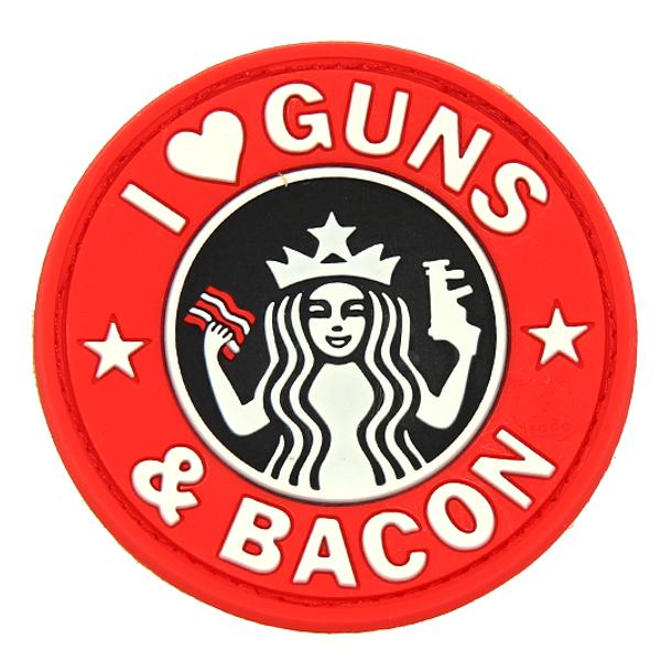 Bilde av Patch - Guns and Bacon - JTG