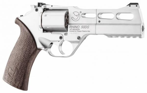 Bilde av Chiappa - Rhino 50DS Luftpistol Co2 Drevet 4.5mm Revolver - Nikk