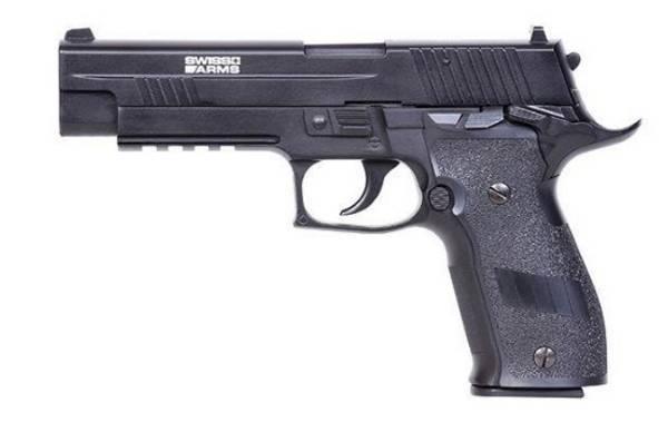 Bilde av Swiss Arms - X-Five Co2 Drevet Softgun Pistol med Blowback