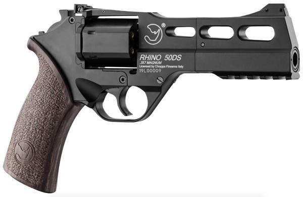 Bilde av Chiappa - Rhino 50DS Co2 Drevet Airsoft Revolver - Svart