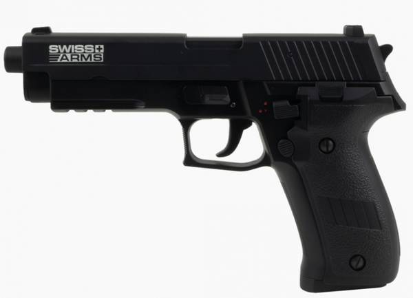 Bilde av SA - P226 Elektrisk Airsoft Pistol med Mosfet og LiPo - Svart