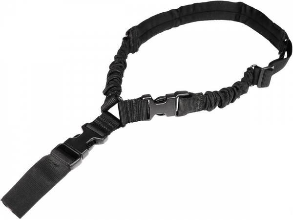 Bilde av Amomax - Padded Single Point Sling - HK Style Clip - Svart