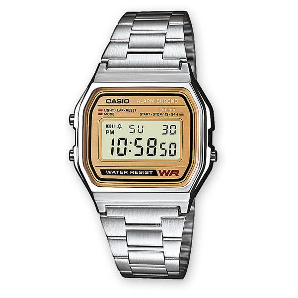Bilde av Casio - Basic Klokke - Classic/Retro  Sølv/Gull
