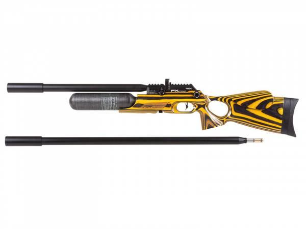 Bilde av FX Crown MKII Continuum - 6.35mm PCP Luftgevær - Laminat Gul