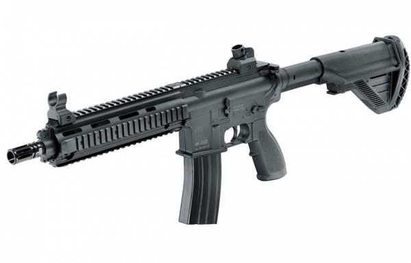 Bilde av Heckler & Koch - HK416D Fjærdrevet Softgun Rifle- Svart