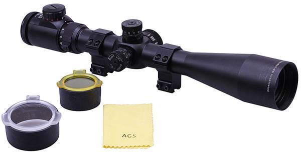 Bilde av AGS Cobalt Kikkertsikte - IR Half Mil Dot Retikkel - 6-24x50
