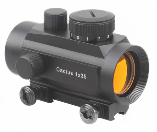 Bilde av Vector Optics - Cactus 1x35 Dovetail - Rødpunktsikte