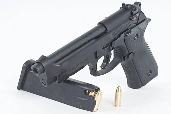 Bilde av Blackcat - Mini Model M92F m/ shell Ejection - Sort