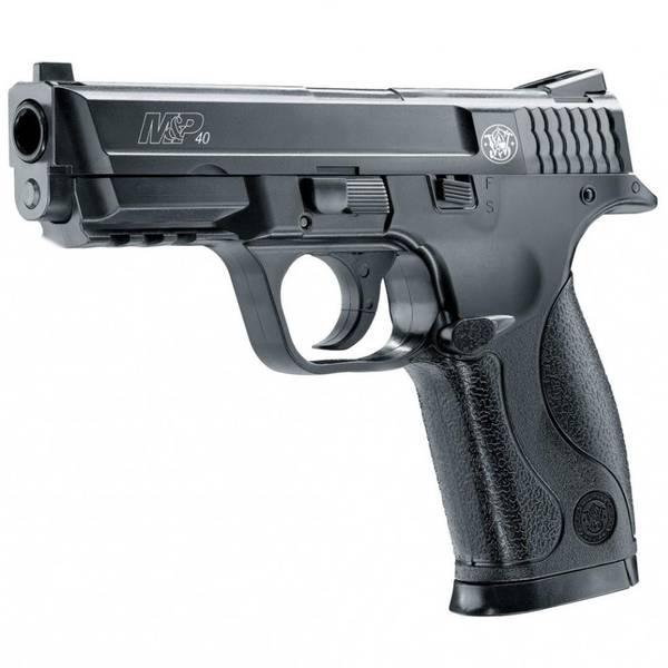 Bilde av Smith &Wesson - M&P40 PS Fjærdrevet Softgun Pistol - Svart