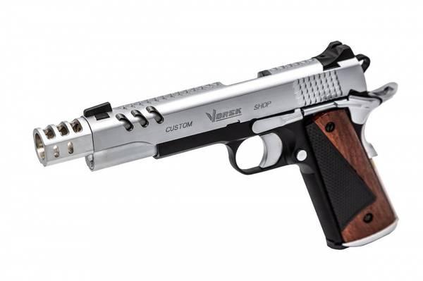 Bilde av Vorsk - CS Defender Pro  Softgunpistol - Svart Sølv
