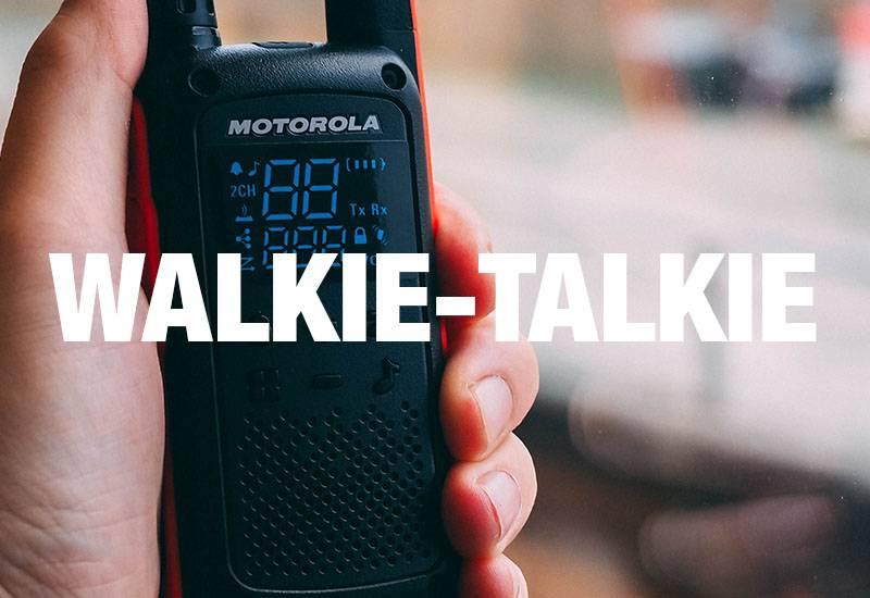 STORT UTVALG AV WALKIE-TALKIE! OPP TIL 10 KM REKKEVIDDE!